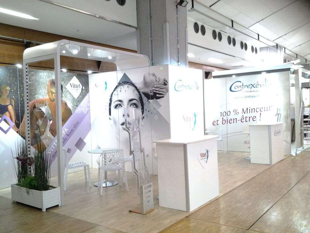 Stand modulaire Vittel Spa