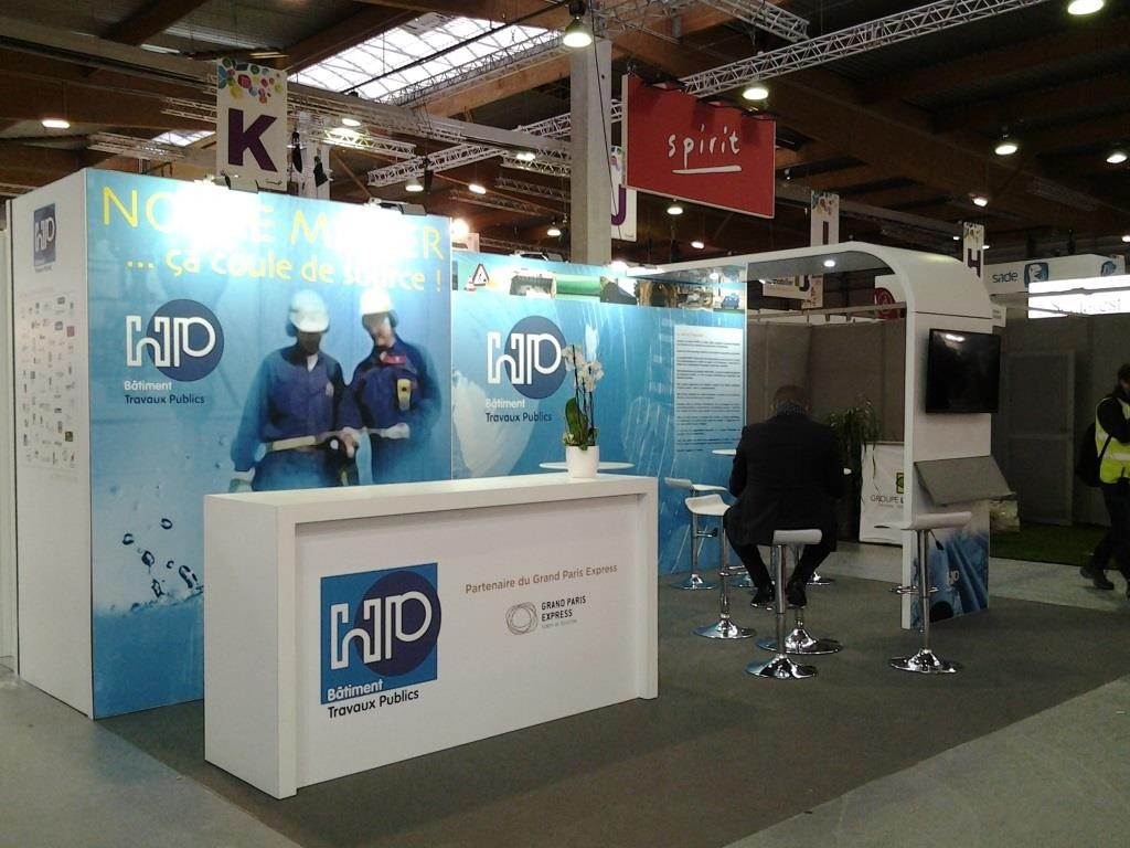 Stand modulaire en location
