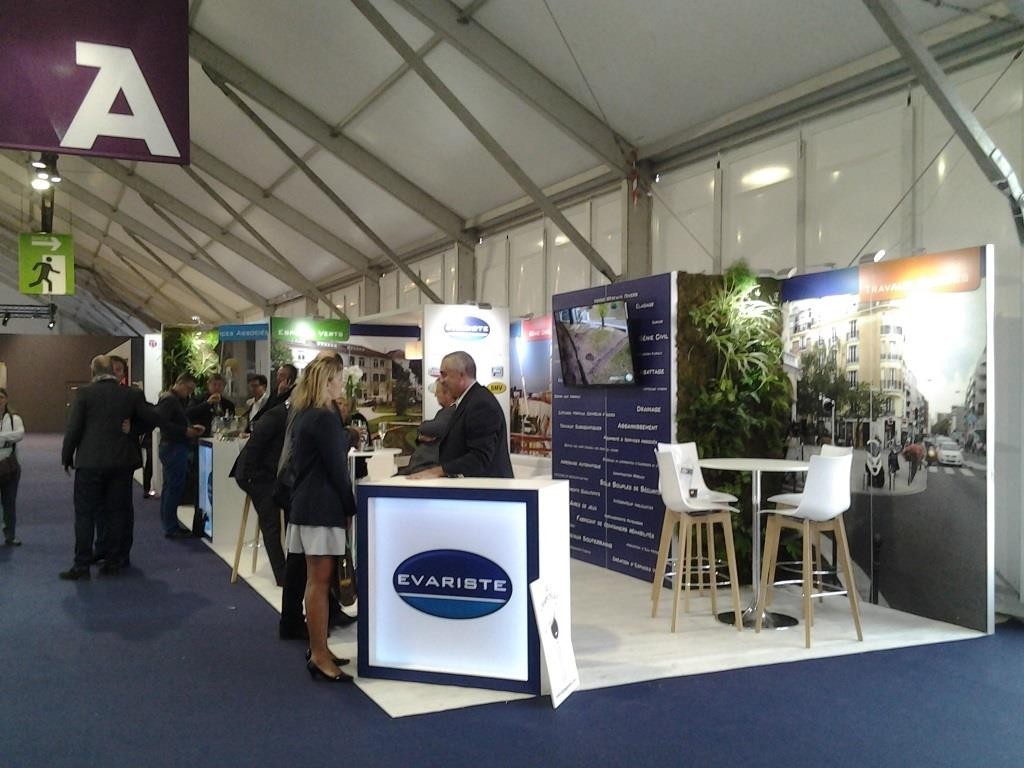 Stand modulaire Amif