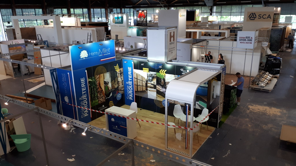 Stand 18m2 modulable