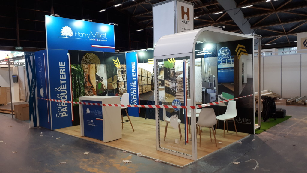 Stand modulaire 6x3